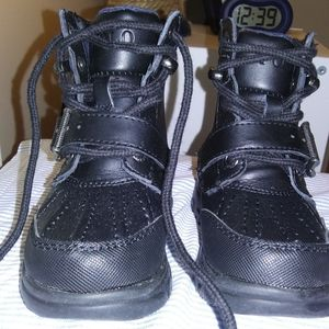 Polo Ralph Lauren Black Boots Toddler Size 5